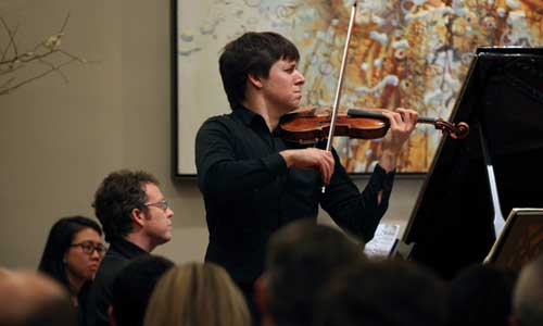 Joshua Bell - Photo by Steve J. Sherman