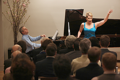 Joyce DiDonato and Jeremy Denk command the stage!
