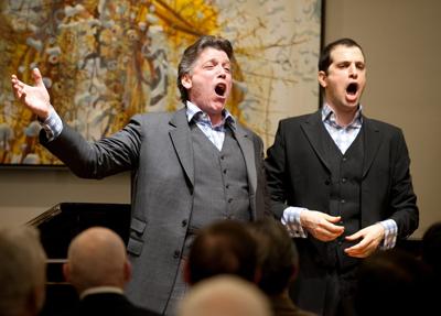 Baritone Thomas Hampson and bass-baritone Luca Pisaroni